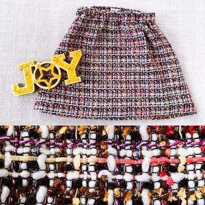 CREWCUTS Girls Wool Blend Boucle Holiday Skirt
